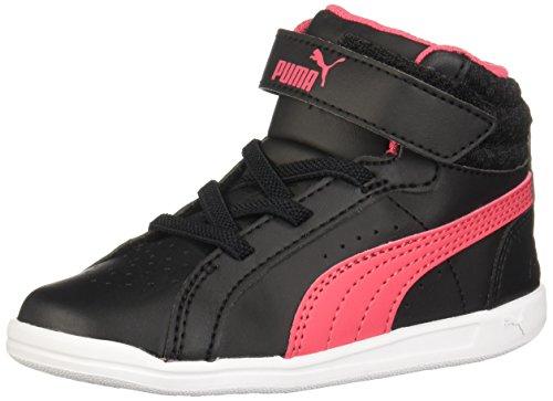 Puma 363927 Zapatos de Estar en Casa, Bebé-Niña, Color Negro, 14