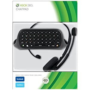 Xbox 360 Chatpad by Microsoft Software