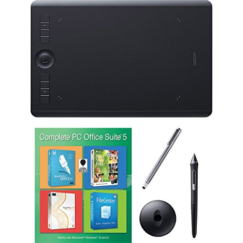 Wacom Intuos Pro Medium Bundle w/ Extra Stylus and, used for sale  Delivered anywhere in USA