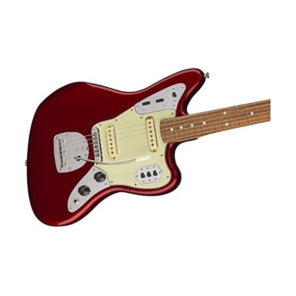 Classic Player Jaguar Special Pau Ferro Fretboard Candy Apple Red