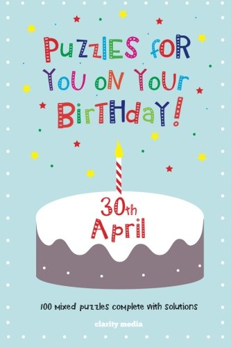 Read Online Puzzles for you on your Birthday - 30th April pdf epub