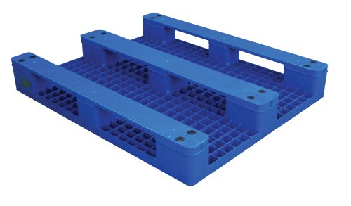 Vestil PLPS-H Solid Top Rackable Plastic Pallet & Skid (Rackable Plastic Pallet)