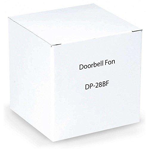 DoorBell Fon DP28 Door Answering System for 2-Gang Masonry Box, Brass (DP28-BF) by DoorBell Fon