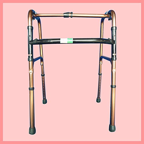 Folding Walker Elderly Aluminum Alloy Stainless Steel Medical Equipment Anti - Skid by jiaminmin