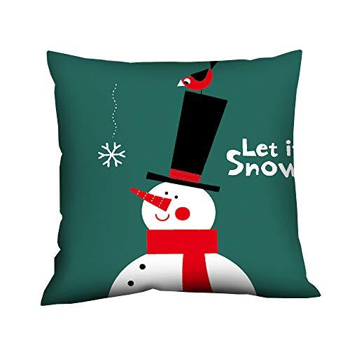 Pgojuni Fresh Style Scenery Printing Pillowcase Fashion Pillow Case Polyester Sofa Car Cushion Cover Home Decor Cover Pillow Case1pc (45cm X 45cm) (H) by Pgojuni_Pillowcases (Image #2)