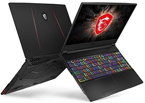 "MSI GE65 Raider-052 Essential (i7-9750H, 16GB RAM, 1TB NVMe SSD, RTX 2060 6GB, 15.6"" Full HD 240Hz 3ms, Windows 10) VR Ready Gaming Laptop 6"