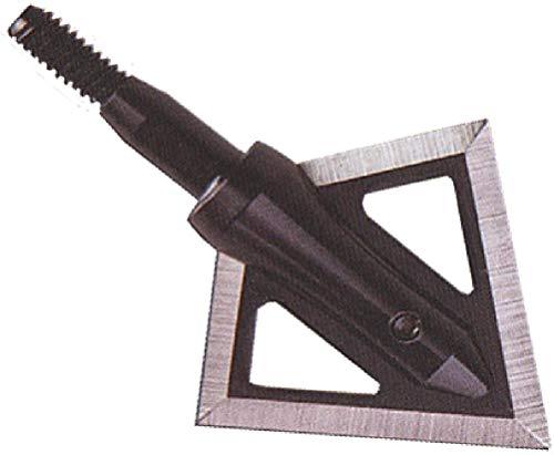 Magnus Black Hornet 2 Blade Broadhead (3 Pack), Black, 125 Grain ()