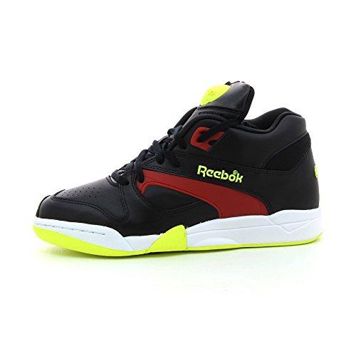 Reebok Classic Court Victory Pump Sneakers Unisex Nere / Rosse, Taglia