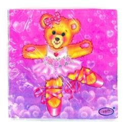 and Napkins 16 Celebrate! Dancing Teddy Bear Plates 16