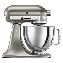 Kitchen Aid Artisan Stand Mixer 5KSM150 Cocoa Silver, Comes with ACUPWR Plug Kit, WILL NOT WORK IN USA/CANADA OUTLETS Made for 220/240 Volt COUNTRIES (Cocoa Silver color)
