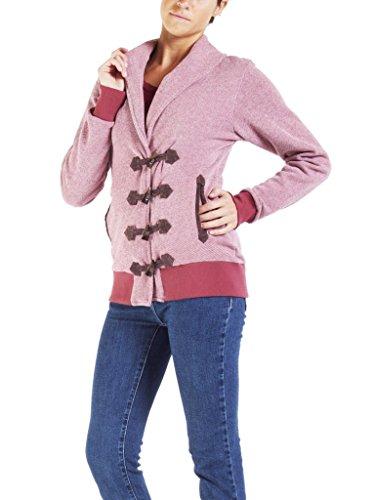 Longue Bordeaux Femme 451 456 Carrera Normale Couleur Unie Taille Jeans Veste Pour Manche A4wvqagp