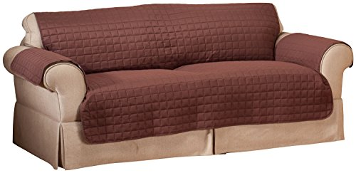 Attractive Innovative Textile Solutions Microfiber Sofa Furniture Cover, Chocolate    Buy Online In UAE. | Misc. Products In The UAE   See Prices, Reviews And  Free ...