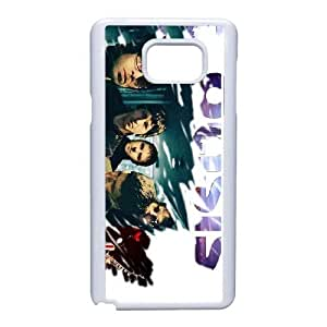 Special Design Cases Samsung Galaxy Note 5 Cell Phone Case White Oasis Veedb Durable Rubber Cover