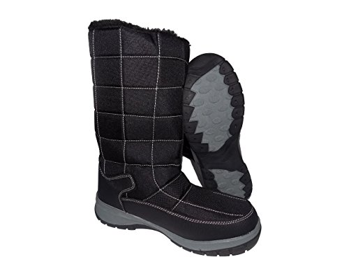 Cold Front LORA Womens 3M Thinsulated Winter Snow Boots Black g2OJp