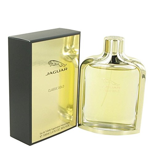 Jaguar Classic Gold By Jaguar Eau De Toilette Spray 3.4 Oz For Men (Gold De Toilette Spray Eau)