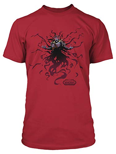 JINX World of Warcraft Wraith Men's Gamer Graphic T-Shirt