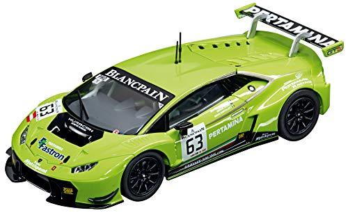 - Carrera USA 20027530 Lamborghini Huracan GT3, No. 63 Evolution Analog Slot Car Racing Vehicle 1:32 Scale, Black