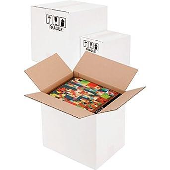 Propac z-boxw303015 caja cartón, dos Olas, blanco, 30 x 30 x 15 cm, paquete de 20: Amazon.es: Industria, empresas y ciencia