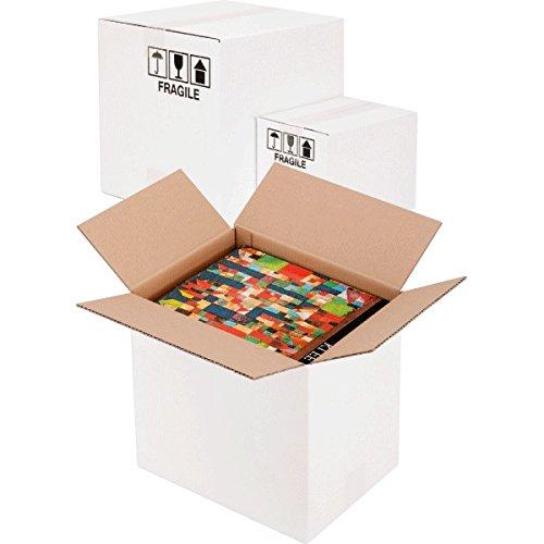 Propac z-boxw603530 Boî te Carton, deux vagues, blanc, 60 x 35 x 30 cm, lot de 20 60x 35x 30cm