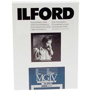 Ilford Multigrade IV RC Deluxe Resin Coated VC Variable Contrast Black & White Enlarging Paper - 8x10''-250 Sheets - Pearl Surface by Ilford