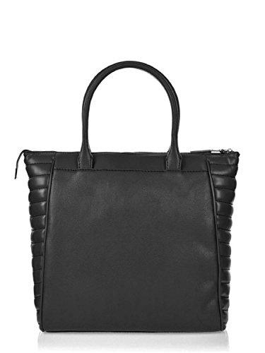 Versace Jeans - Bolso cruzados para mujer negro negro 35x35x17cm (BxHxT)