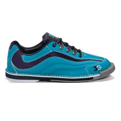 Bowlerstore Products 3G Ladies Sport Ultra Bowling Shoes Right Hand- Teal/Purple (9 1/2 M US, Teal/Purple)