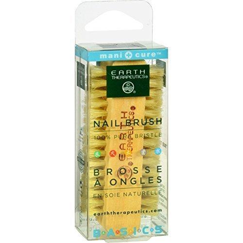 Earth Therapeutics Genuine Bristle Nail Brush -