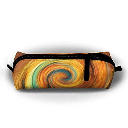 SHOUNABAG Spiral Universe Space Swirl Big Capacity Pencil Case,Collection Cosmetic Pencil Case. (Swirl Spiral Collection)