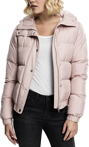 Urban Classic Women's Ladies Hooded Puffer Jacket Rosa (Lightrose 823)