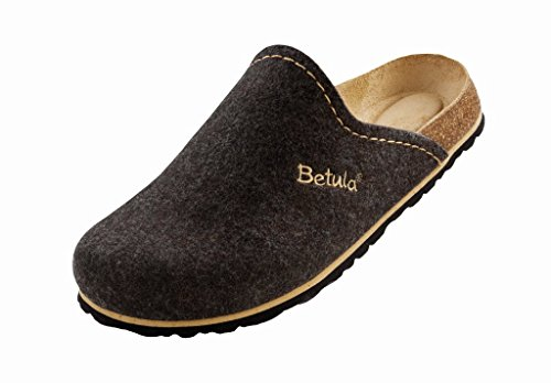 Betula Clogs ''House'' aus Textil in Darkbrown