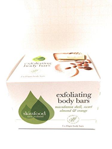 Itty Bitty Shells - Skinfood Exfoliating Body Bars Macademia Shell, Sweet Almond And Orange Set Of 3