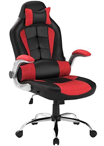 Merax High-Back Ergonomic Pu Leather Office Chair