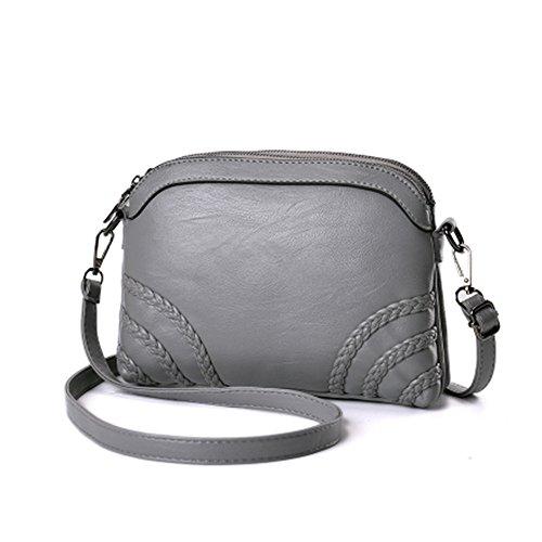 Wallet Women Crossbody Clutch Sanxiner Purse Phone Bag Shoulder B grey Bags For Cell YO55q8w