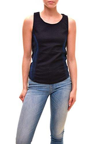 - Diesel Women's Authentic Sleeveless MDX Top Blue Size S