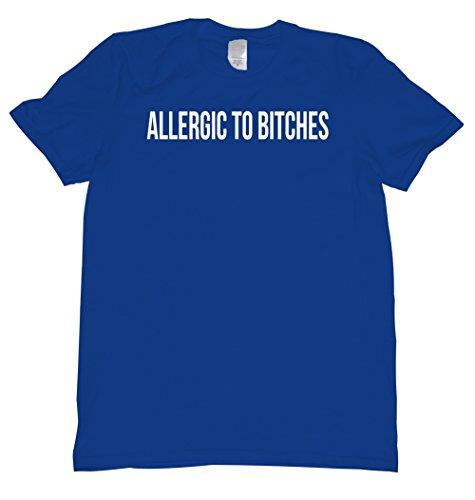 Allergic To Bitches Tee Shirt Mens XXL royal U