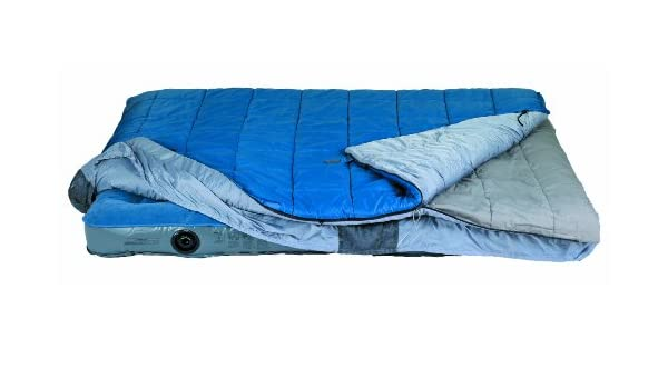 Kelty Satellite 30° - Saco de Dormir Rectangular para Acampada, Color Azul: Amazon.es: Deportes y aire libre