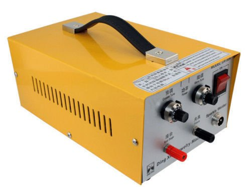 ELEOPTION Multifunction 2 in1 Welding Machine For Pulse Spot Welder, Handheld Pulse Jewelry 110V 400W