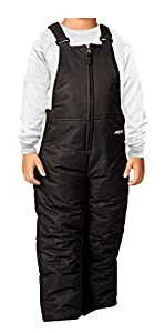 Arctix Infant/Toddler Insulated Snow Bib Overalls,Black,5T