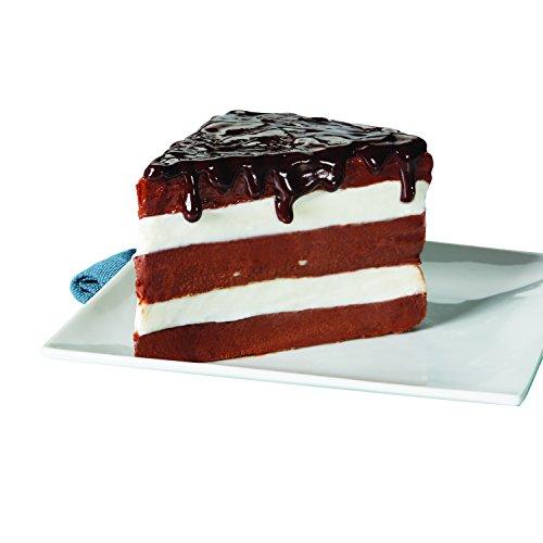 Circulon Nonstick Bakeware 9-Inch Round Cake Pan, Chocolate Brown