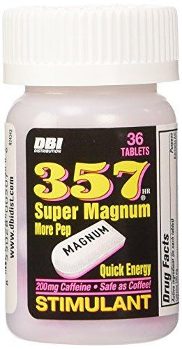 357 Magnum super estimulante pastillas fuerza máxima 3 cuenta tableta 36 botella 108 tabletas