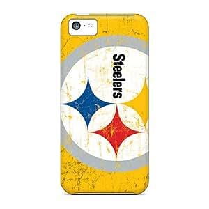 Jamesdd Premium Protective Hard Case For Iphone 5c- Nice Design - Pittsburgh Steelers