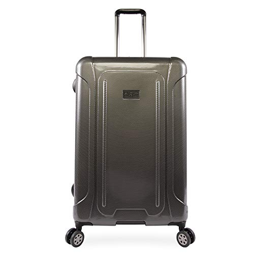 "ORIGINAL PENGUIN Luggage Crest 29"" Hardside Check in Spinner, Charcoal"