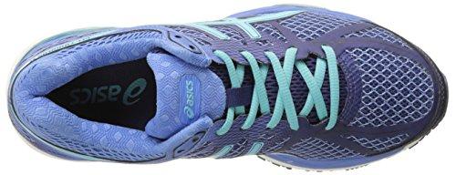 Asics Gel-Cumulus 17Zapatilla de Running de la mujer Deep Cobalt-Turquoise-Dutch Blue