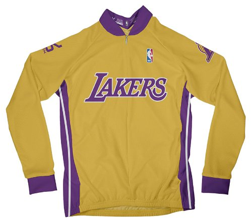 Amazon.com   NBA Los Angeles Lakers Women s Long Sleeve Cycling Jersey    Sports   Outdoors 95559fb90