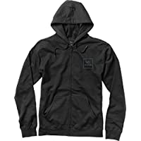 RVCA Mens Va All The Way Embroidered Zip Up Hoodie