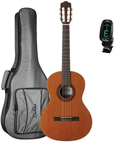 Cordoba cadete 3/4 tamaño guitarra clásica con Cordoba 3/4 tamaño ...