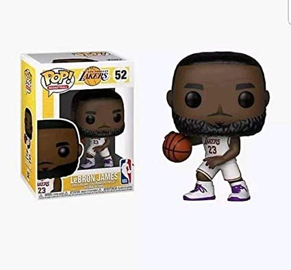 6642009a70da Image Unavailable. Image not available for. Color  Funko POP! NBA  Lakers - Lebron  James ...