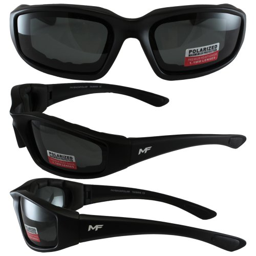 MF Payback Sunglasses (Black Frame/Polarized Smoke Lens)