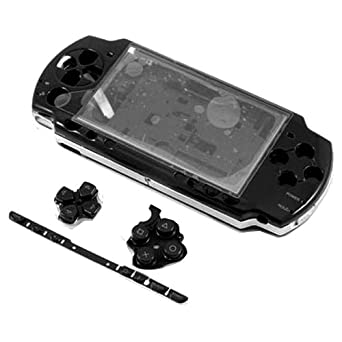 Carcasa Completa PSP 2000 Negro: Amazon.es: Videojuegos
