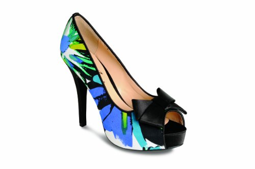 Lunar Flr131 - zapatos de tacón de material sintético mujer Azul